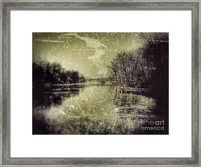 Unfrozen Lake Framed Print