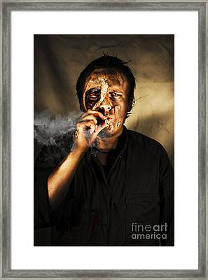 Unhealthy Habit Framed Print by Jorgo Photography - Wall Art Gallery