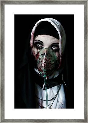Unholy Framed Print by Aston Futcher