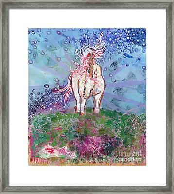 Unicorn Tears Framed Print