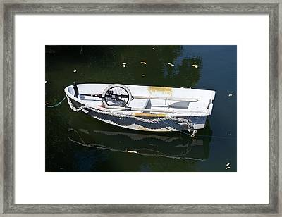 Unicycle Dinghy Framed Print