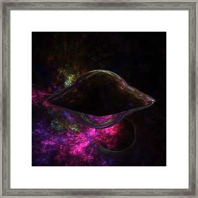 Unidentified Flying Object By Raphael Terra Framed Print by Raphael Terra