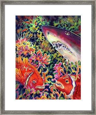 Uninvited Guest Framed Print