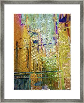Uninvited Framed Print