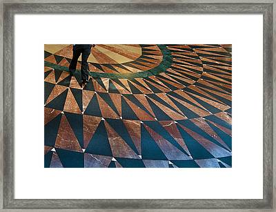 Union Floor Framed Print by Kevin Bergen