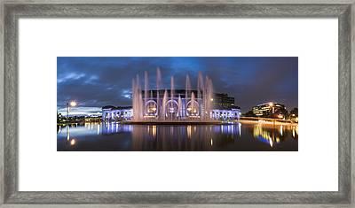 Union Fountain Framed Print