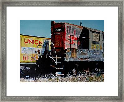 Union Framed Print by Gail Chandler
