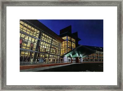 Union Hospital Of Terre Haute Framed Print