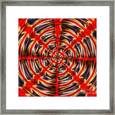 Union Jack Framed Print by Neil Finnemore