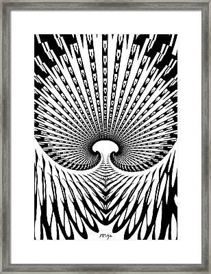 Union Framed Print by Mitja Melansek