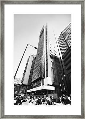 Union Bank Hq, Marina Framed Print