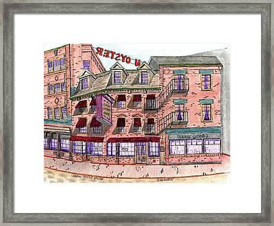 Union Osyter House Boston Framed Print