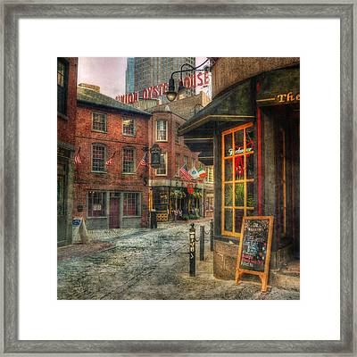 Union Oyster House - Blackstone Block - Boston Framed Print