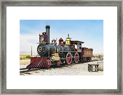 Union Pacific 119 Framed Print