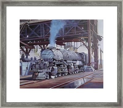 Union Pacific Big Boy Framed Print