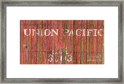 Union Pacific Framed Print by Charles Dobbs