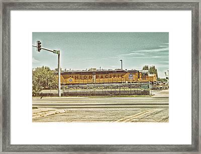 Union Pacific Framed Print by Kyzer Kane