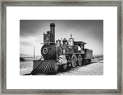 Union Pacific No. 119 Framed Print