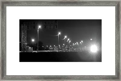 Union Pacific Rail Yard Framed Print
