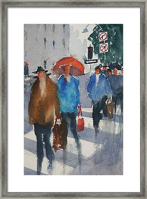Union Square 8 Framed Print by Tom Simmons
