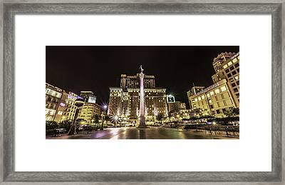 Union Square Framed Print