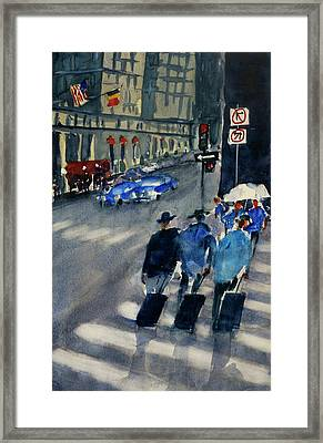 Union Square1 Framed Print by Tom Simmons
