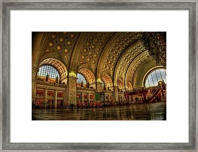 Union Station - Dc Framed Print