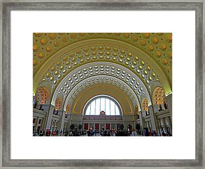 Union Station 12 Framed Print