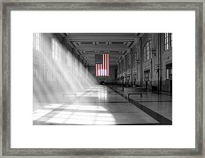 Union Station 2 - Kansas City Framed Print by Mike McGlothlen
