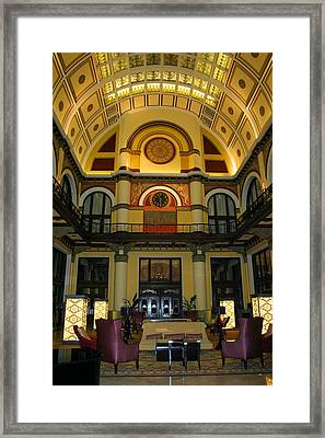Union Station Lobby Framed Print by Kristin Elmquist
