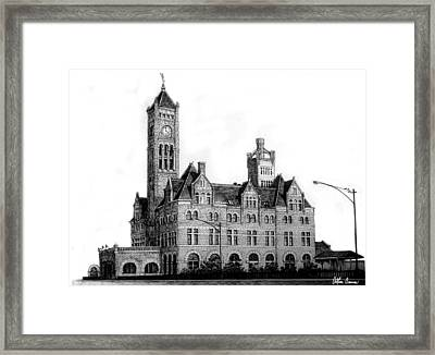 Union Station, Nashville Framed Print by Arthur Barnes