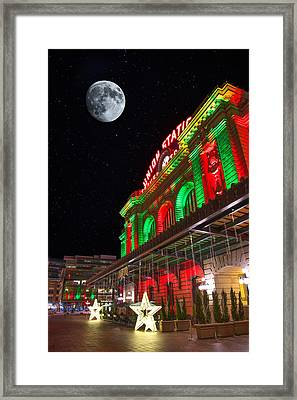 Union Station Nights Framed Print