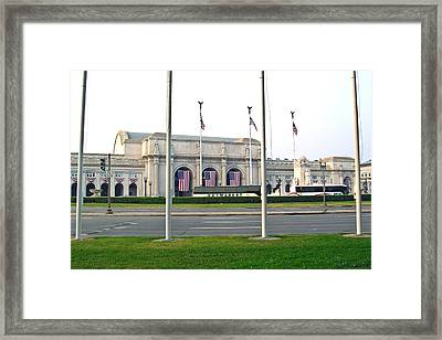 Union Station Washington Dc Framed Print
