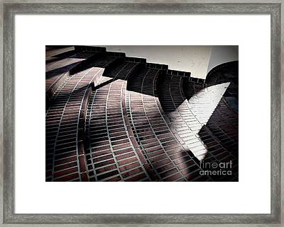 Union Steps Framed Print