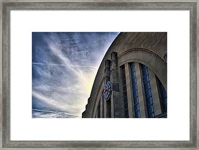 Union Terminal Framed Print by Russell Todd