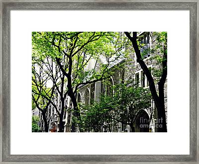 Union Theological Seminary 2 Framed Print