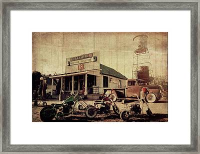 Framed Print featuring the photograph Unionville Genral Store by Joel Witmeyer