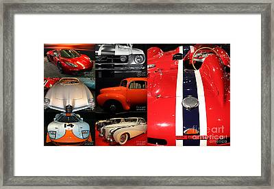 Framed Print featuring the photograph Unique And Eclectic Classic Cars Fine Art And Photography Wall Art Home And Office Decor by Wingsdomain Art and Photography