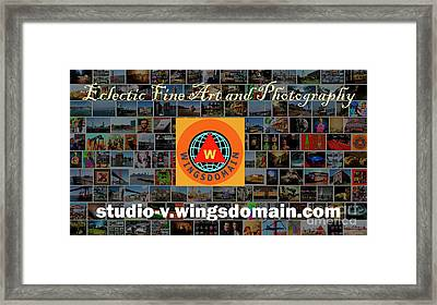 Framed Print featuring the photograph Unique And Eclectic Fine Art And Photography Wall Art Home And Office Decor by Wingsdomain Art and Photography