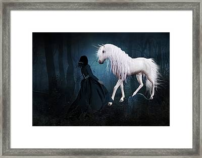 Unique And Extraordinary Framed Print
