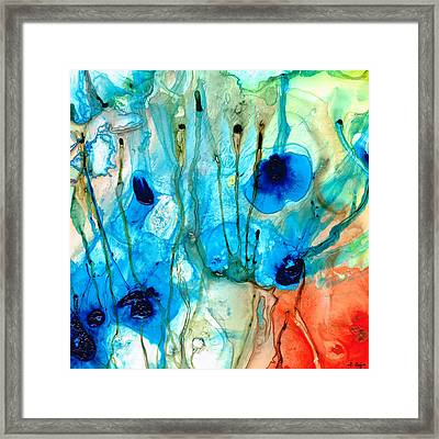 Unique Art - A Touch Of Red - Sharon Cummings Framed Print