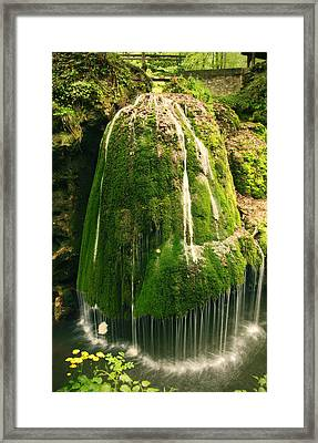 Unique Famous Amazing Bigar Waterfall Framed Print