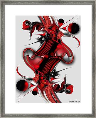 Unique Formation Framed Print