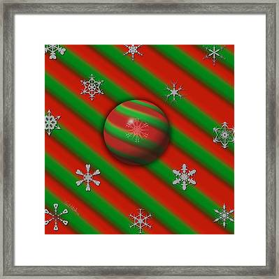 Unique Snowflakes Framed Print