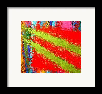 Abstract Irish Contemporary Modern Vibrant Music Jazz Artist Gallery Framed Prints