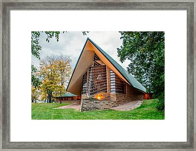 Unitarian Meeting House Framed Print by Todd Klassy