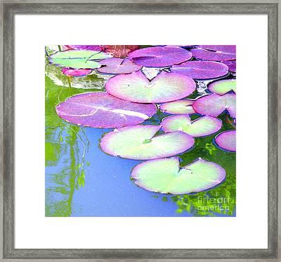 Unite Framed Print by Sybil Staples