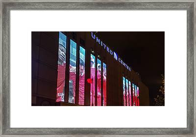 United Center Station Framed Print by Britten Adams