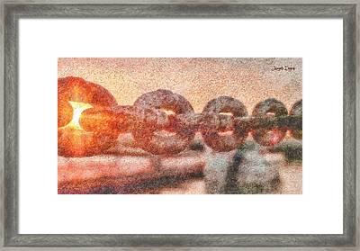 United - Da Framed Print