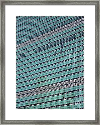 Framed Print featuring the photograph United Nations 2 by Randall Weidner